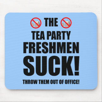 tea party freshmen mouse pad