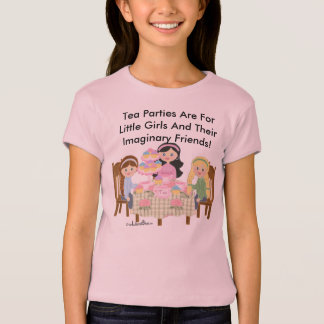 Tea Party Girls Baby Doll (Fitted)) T-Shirt