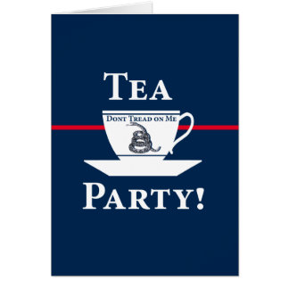 Tea Party! Greeting Cards