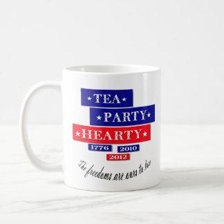 TEA PARTY HEARTY COFFEE MUG