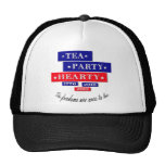 TEA PARTY HEARTY MESH HATS