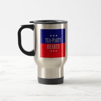 TEA PARTY HEARTY TRAVEL MUG