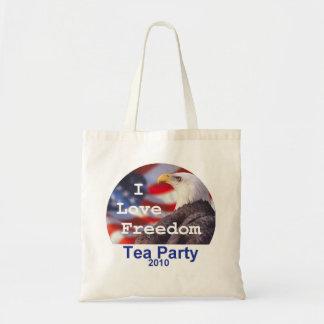 TEA PARTY I Love Freedom Bag
