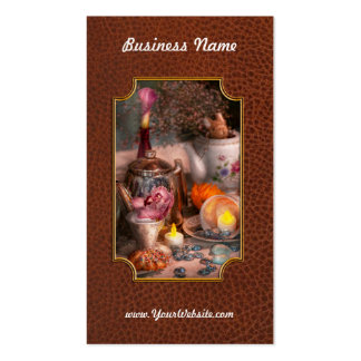 Tea Party - I would love to have some tea Business Card