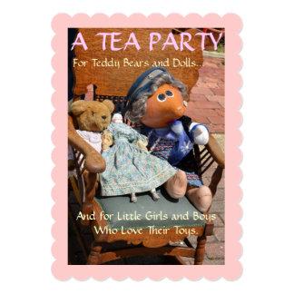 Tea Party - Invitation