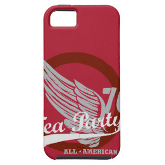 Tea Party iPhone 5 Case Red