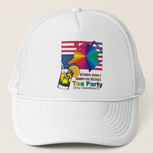 Tea Party is for ALL Americans! Trucker Hat