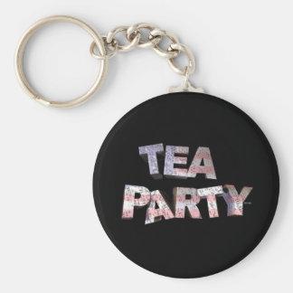 Tea Party Keychain