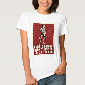 Tea Party - King George Didn't Listen Either T Shirt