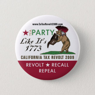 Tea Party Like It's 1773 Button