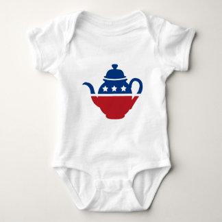 Tea Party Logo Baby Bodysuit
