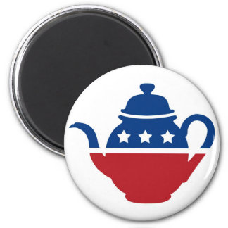 Tea Party Logo Magnet