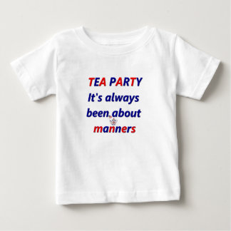 Tea Party Manners Baby T-Shirt