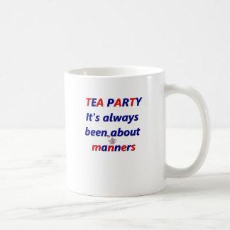 Tea Party Manners Coffee Mug