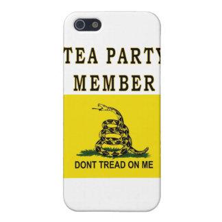 TEA PARTY MEMBER iPhone SE/5/5s CASE