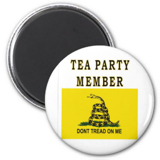 TEA PARTY MEMBER MAGNET
