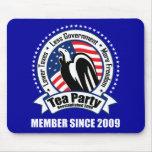 Tea Party - Member Since 2009 Mouse Pads