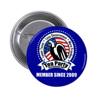 Tea Party - Member Since 2009 Pins