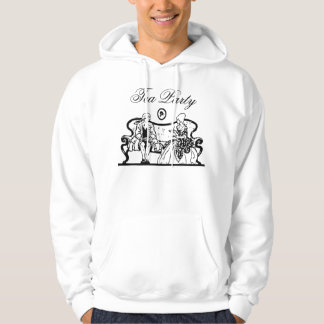 tea party mens hoodie
