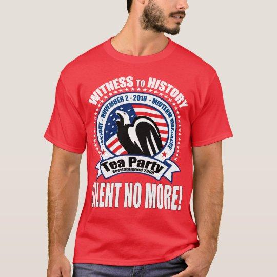 Tea Party - Midterm Massacre T-Shirt