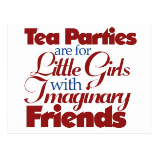 TEA party mockery Postcard