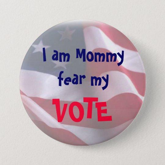 Tea Party Mom 5 Button