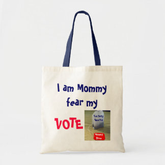 Tea Party Mommy 2 Tote Bag