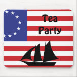 Tea Party Mouse Pad