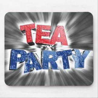 Tea Party Mouse Pads