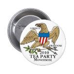 TEA PARTY MOVEMENT BUTTONS