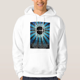 Tea Party Movement Hooded Pullover