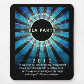 Tea Party Movement Mouse Pad