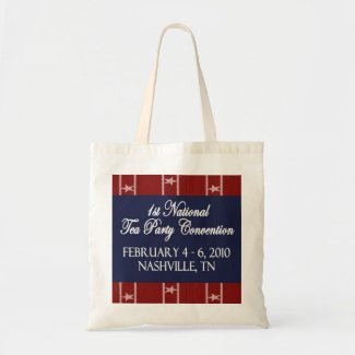 Tea Party National Convention Tote Bag bag