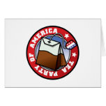 Tea Party of America Greeting Card
