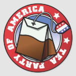 Tea Party of America Stickers