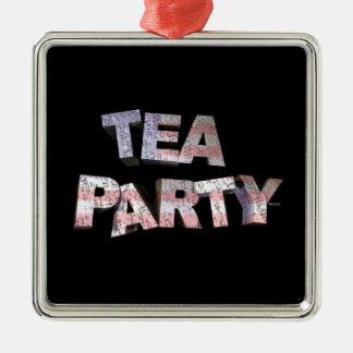 Tea Party Christmas Tree Ornament