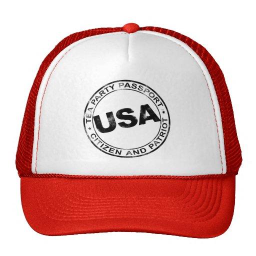 Tea Party Passport Trucker Hat