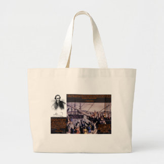 Tea Party Patrick Henry Tote Bags
