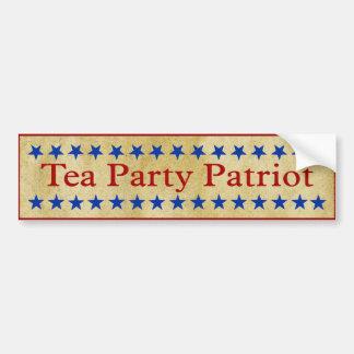 Tea Party Patriot Bumper Stickers