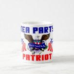 Tea Party Patriot Classic White Coffee Mug
