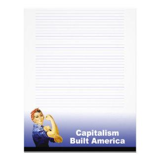 Tea Party Patriot Customizable Letterhead