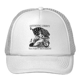 TEA PARTY PATRIOT MESH HAT