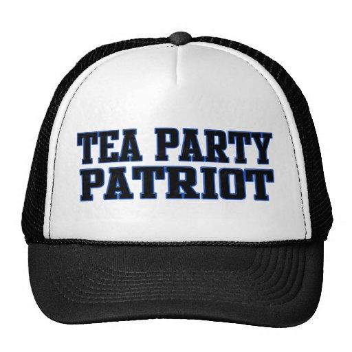 Tea Party Patriot Trucker Hats