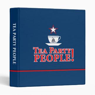 Tea Party People! Binder