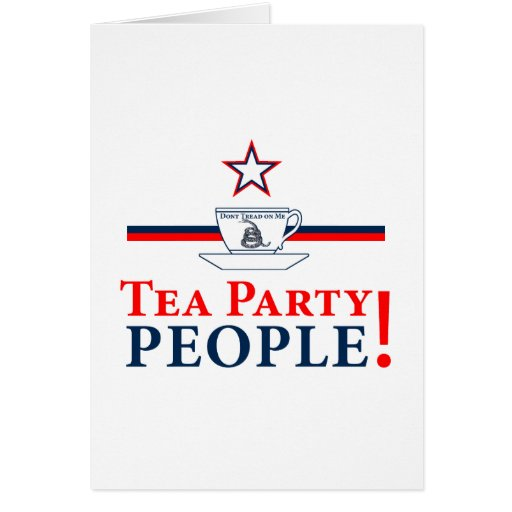 Tea Party People! Card