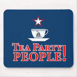 Tea Party People! Mouse Pads