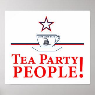 Tea Party People! Print