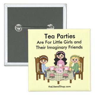 Tea Party Pin