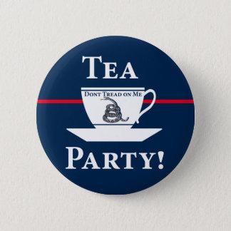 Tea Party! Pinback Button