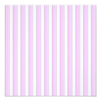 Tea Party Pink Striped Custom Invitations